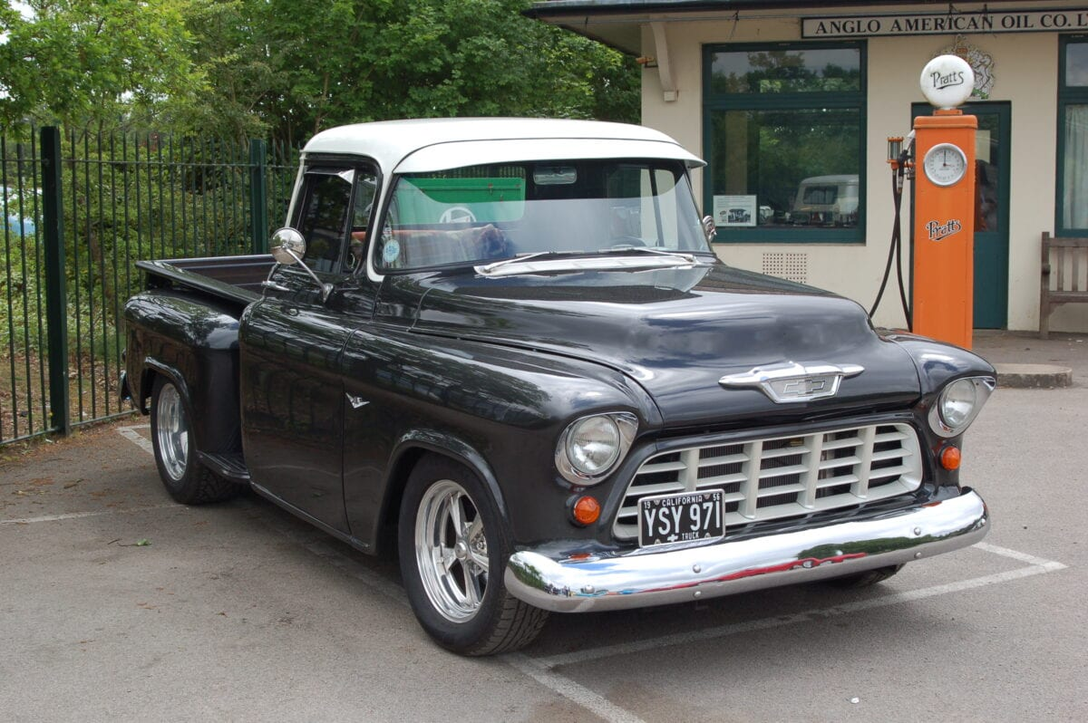 1956 chevy stepside truck classic american