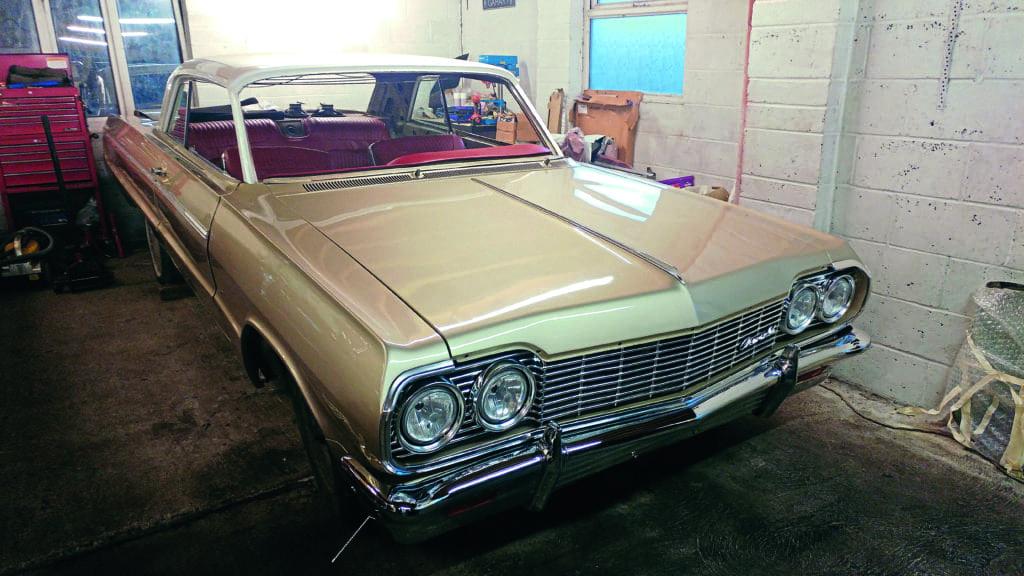 Impala Super Sport: 3D printed car parts - Classic American