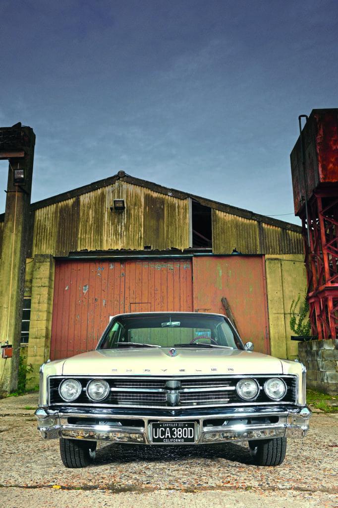 White Lightning 1966 Chrysler 300 Classic American