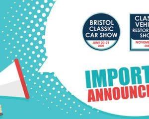 Bristol Classic Car Show & Classic Vehicle Restoration Show cancelled