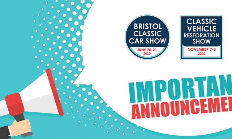Bristol Classic Car Show & Classic Vehicle Restoration Show cancelled