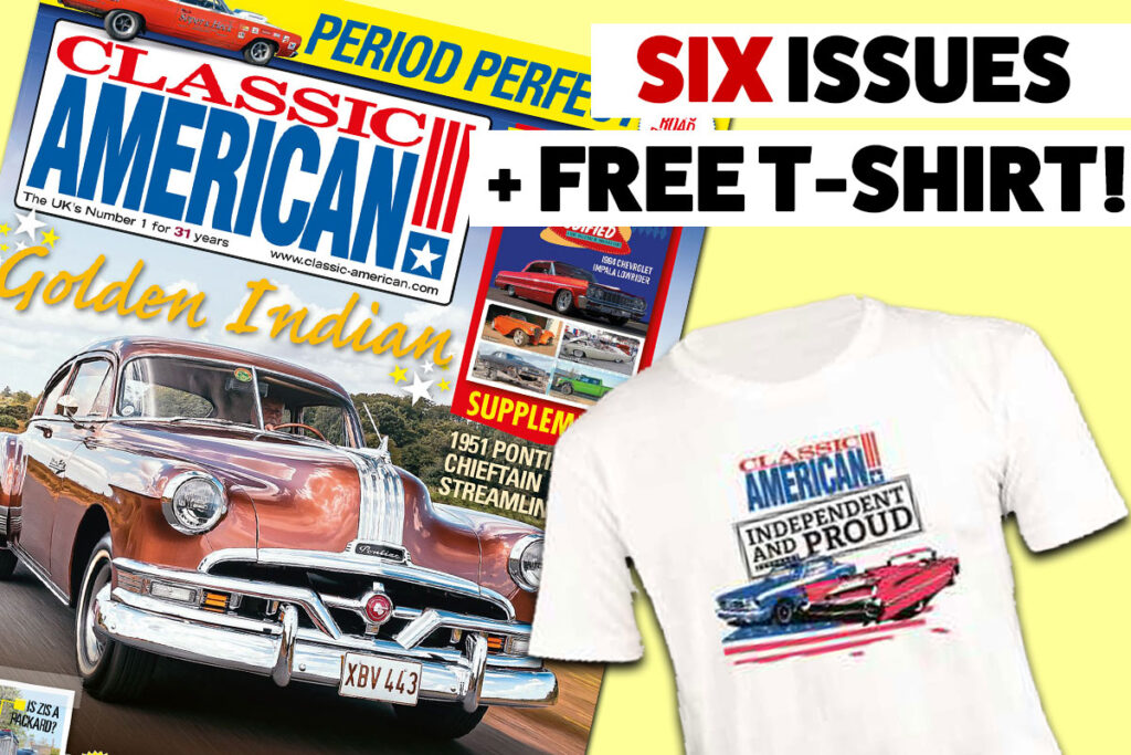 Get SIX issues for £24 plus a FREE T-shirt!
