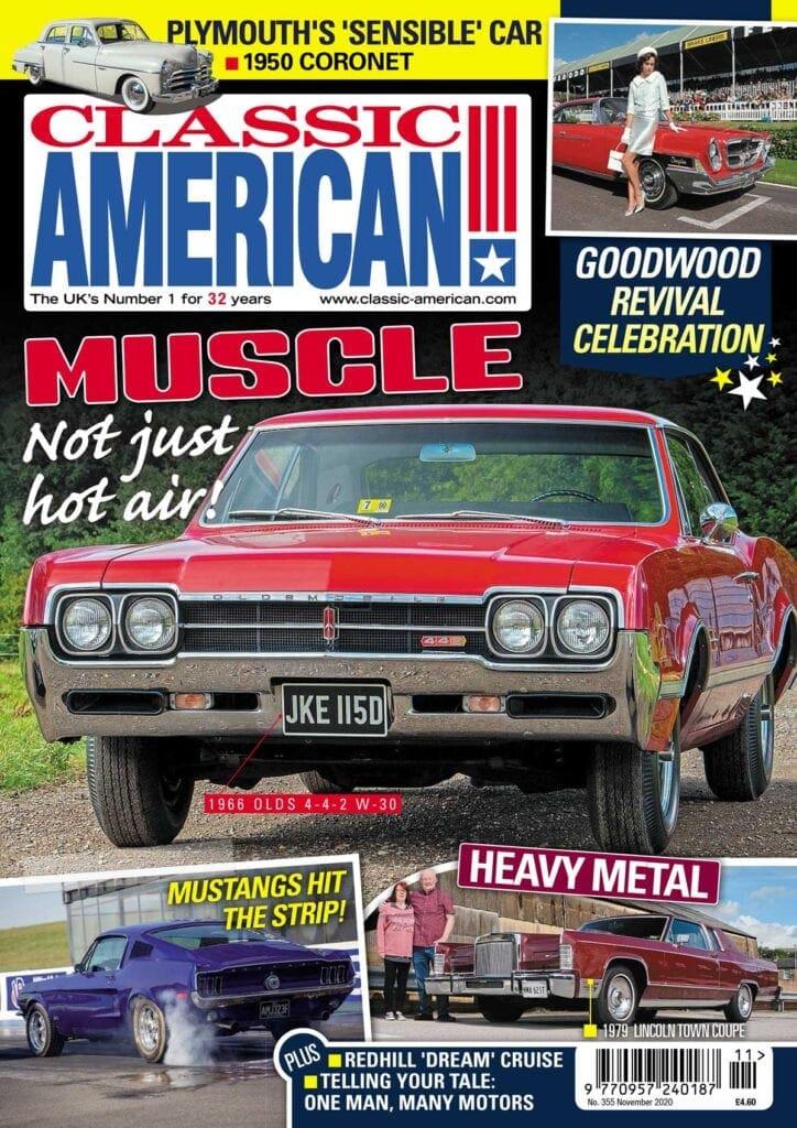 Classic American magazine cover