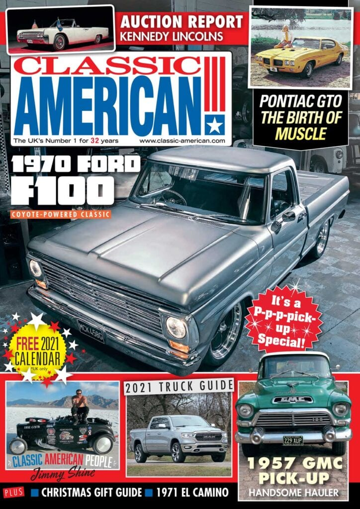 Make sure you grab the FREE Classic American 2021 Calendar - only available in our brand new December issue!